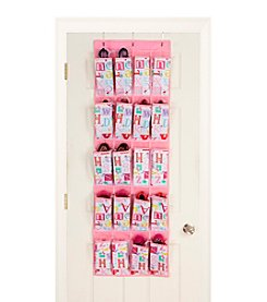Laura Ashley PVC Coated Owl Alphabet 20-Pocket Shoe Organizer