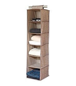 Laura Ashley Fern 6-Shelf Closet Organizer