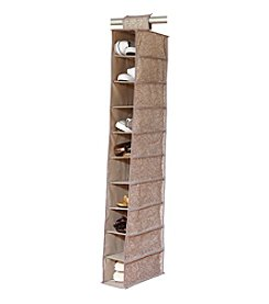 Laura Ashley Fern 10-Shelf Closet Organizer