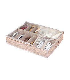 Laura Ashley Fern Under-The-Bed Shoe Storage Organizer