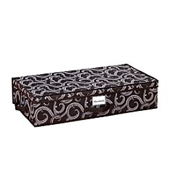 Laura Ashley Marchmont Black Under-The-Bed Storage Box
