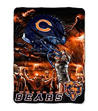 Chicago Bears Raschel Throw