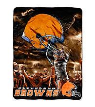 Cleveland Browns Raschel Throw