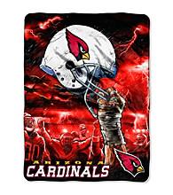 Arizona Cardinals Raschel Throw