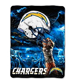 NFL® San Diego Chargers Raschel Throw