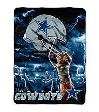 Dallas Cowboys Raschel Throw