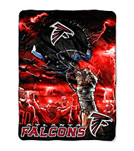 Atlanta Falcons Raschel Throw