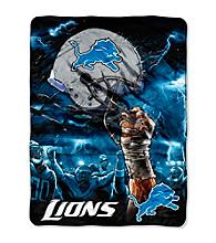 Detroit Lions Raschel Throw