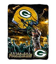 Green Bay Packers Raschel Throw
