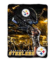 Pittsburgh Steelers Raschel Throw