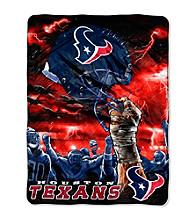 Houston Texans Raschel Throw