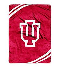 Indiana University Raschel Throw