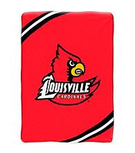 University of Louisville Raschel Throw