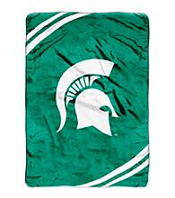 Michigan State University Raschel Throw