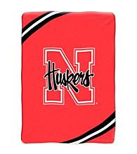 University of Nebraska Raschel Throw