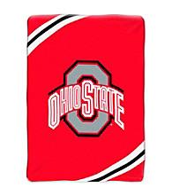 Ohio State Raschel Throw