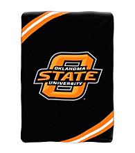 Oklahoma State University Raschel Throw