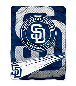 MLB® San Diego Padres Raschel Throw