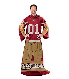 San Francisco 49ers Full Body Player Comfy Throw