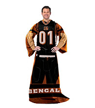 Cincinnati Bengals Full Body Player Comfy Throw