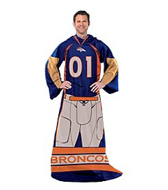 Denver Broncos Full Body Player Comfy Throw