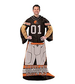 Cleveland Brown Full Body Player Comfy Throw