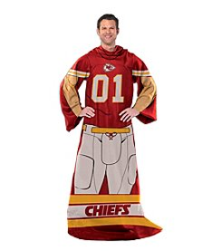 Kansas City Chiefs Full Body Player Comfy Throw