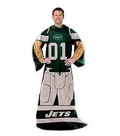 New York Jets Full Body Player Comfy Throw