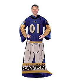 Baltimore Ravens Full Body Player Comfy Throw