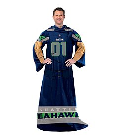 Seattle Seahawks Full Body Player Comfy Throw