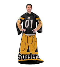 Pittsburgh Steelers Full Body Player Comfy Throw