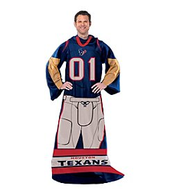 Houston Texans Full Body Player Comfy Throw