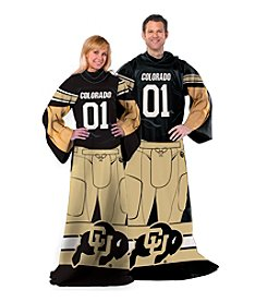 University of Colorado Full Body Player Comfy Throw