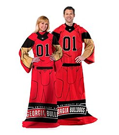 NCAA® University of Georgia Full Body Player Comfy Throw
