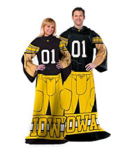 University of Iowa Full Body Player Comfy Throw