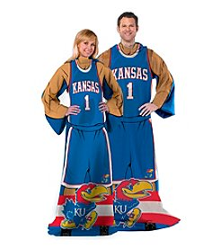 NCAA® University of Kansas Full Body Player Comfy Throw