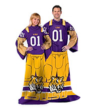 Louisiana State University Full Body Player Comfy Throw