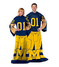 University of Michigan Full Body Player Comfy Throw