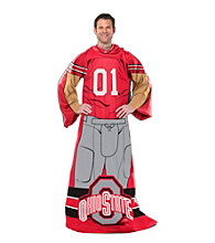 Ohio State Full Body Player Comfy Throw