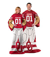 University of Oklahoma Full Body Player Comfy Throw