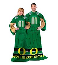 University of Oregon Full Body Player Comfy Throw