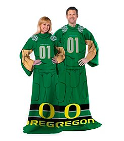 University of Oregon Full Body Player Comfy Throw