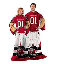 University of South Carolina Full Body Player Comfy Throw