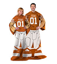 University of Texas Full Body Player Comfy Throw