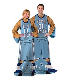 University of North Carolina Full Body Player Comfy Throw