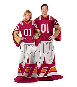 Virginia Tech University Full Body Player Comfy Throw