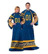 West Virginia University Full Body Player Comfy Throw