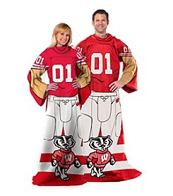University of Wisconsin Full Body Player Comfy Throw