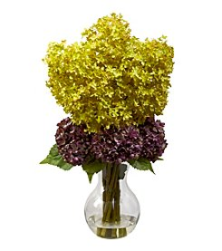 Nearly Natural® Bostonian Hydrangea Arrangement