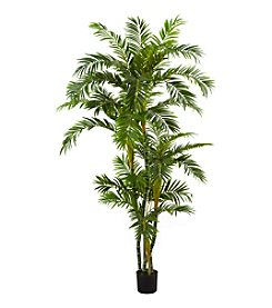 Nearly Natural® 6' Curvy Parlor Palm Silk Tree
